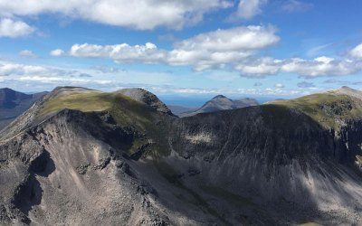 Combining sailing with climbing on Scotland's west coast