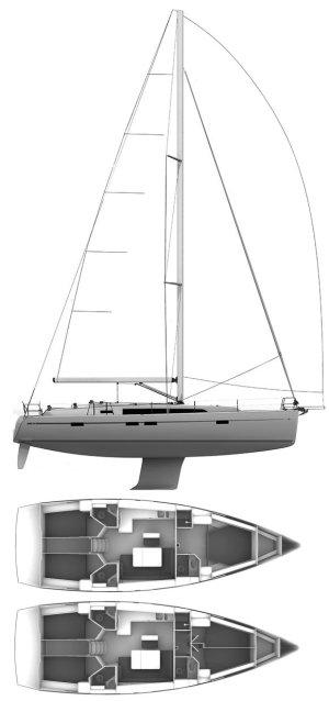 SailboatData  BAVARIA CRUISER 46 Sailboat