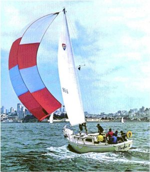 SailboatData  COLUMBIA 36 Sailboat