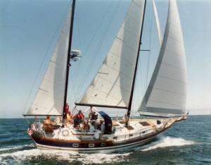 SailboatData  VAGABOND 42 Sailboat