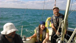 Solent Sailing on Jalapeno and Karic