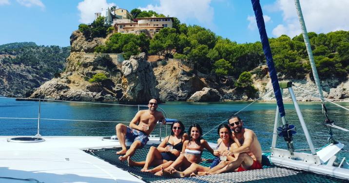 Mallorca catamaran trip - Sail go catamaran - Private sailing trip