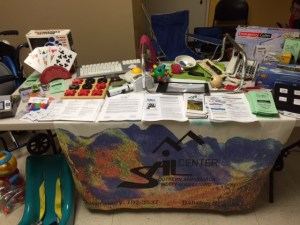 Photo of SAIL's outreach table