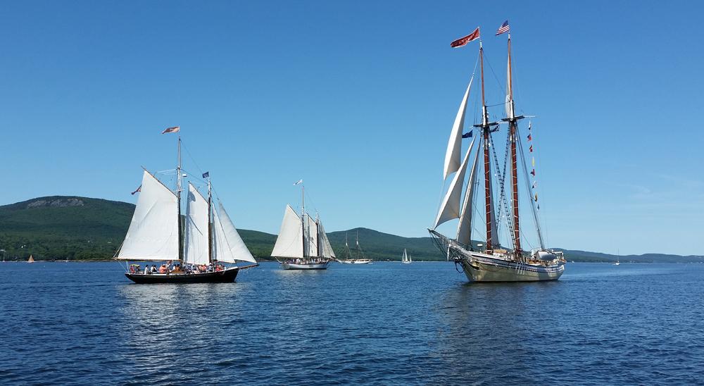 Maine Special Event Sails 2018  Fireworks, Great Schooner