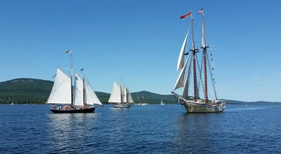 Maine Special Event Sails. Camden Windjammer Parade