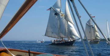 Maine Special Event Sails. Windjammer Parade of Sail
