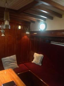 Heron interior layout - Main salon