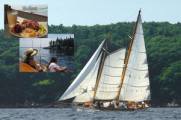 Island sail with lobster roll lunch on Schooner Heron