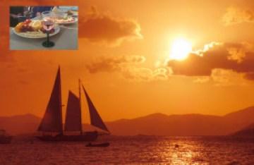 Sailing Maine Sunset Sail