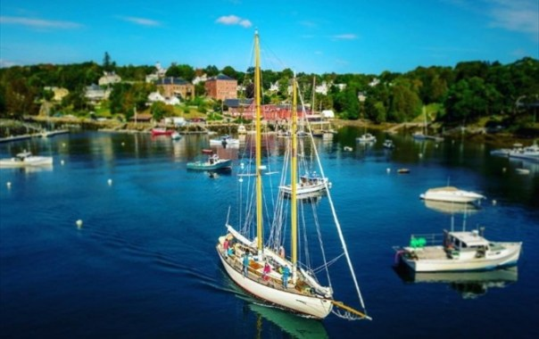 Sailing from Historic Rockport Harbor
