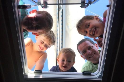 Segeltörn mit Kindern in Kroatien