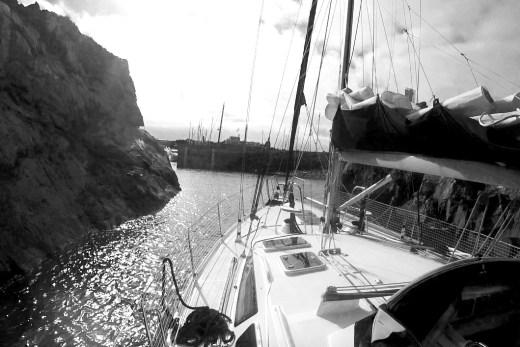 Einfahrt Marina Beaucette