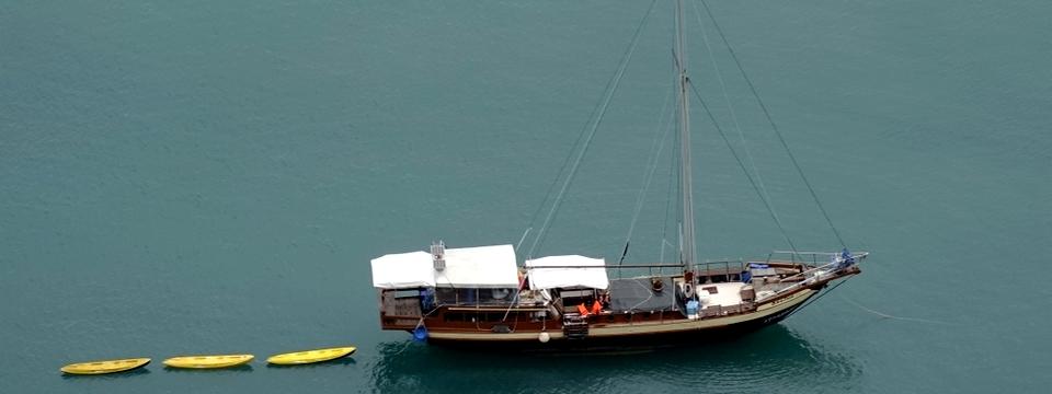 sailing boat cruises and