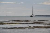 Isla de Gilligan anchorage