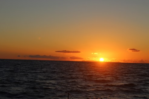 Another sunset at sea