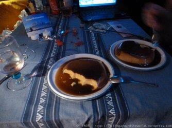 Flan als Dessert...