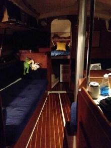 Nighttime Aboard
