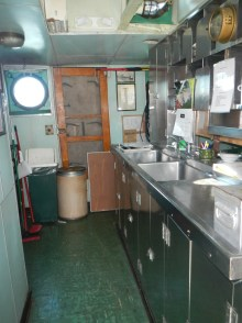 Their galley is bigger than my galley.