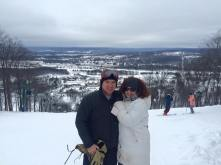 Aaron and I had a wonderful day skiing at Boyne Mountain, up north in Michigan. It had been eight years since the last time we were on the slopes. My guess is it might be another eight years before we are again. But it was a blast!