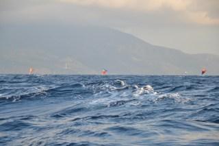 Hunderte Fischerboote nähe Bali