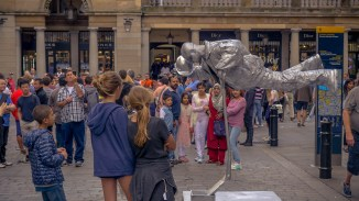 Neuer Trend: In London schweben die Leute