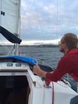 Me sailing