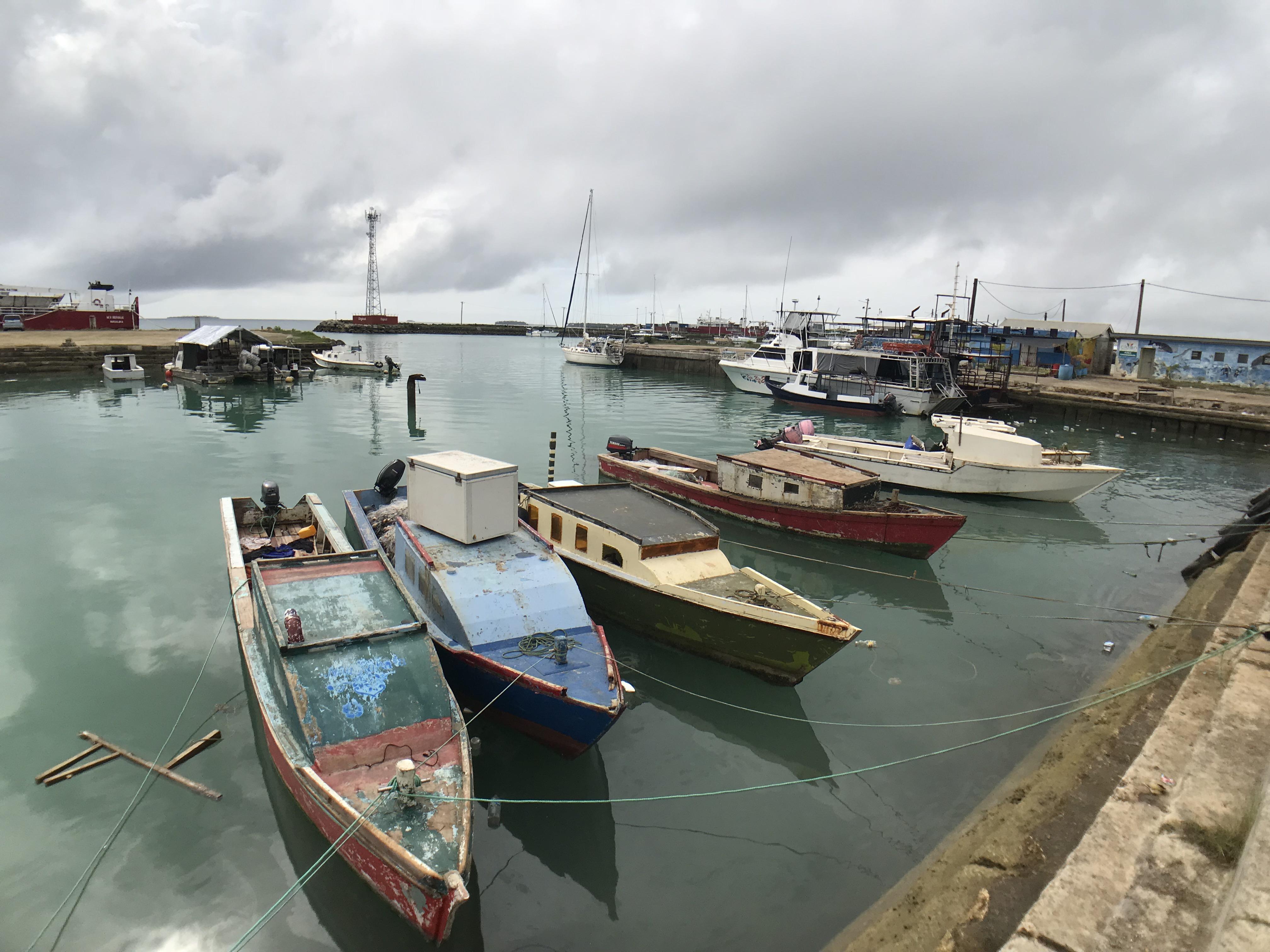 Nuku Alofa Dinghy dock