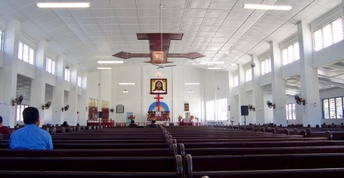 Pangai church