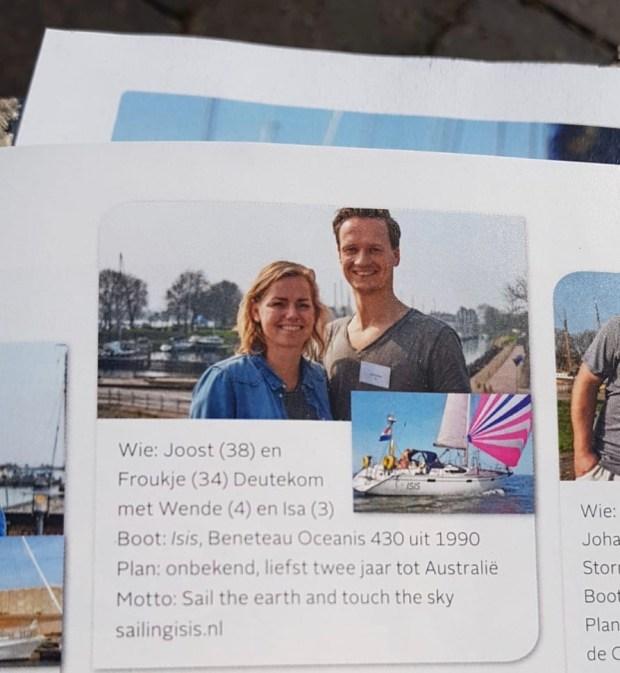 Zeilen magazine vertrekkers vertrekken 2019 wereld atlantic