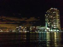 South Beach at night.