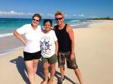 Us on the ocean side!