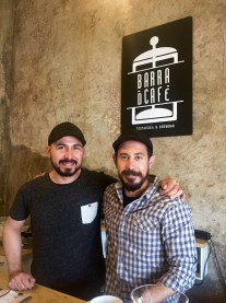 Francisco and Alonso at Barra de Cafe