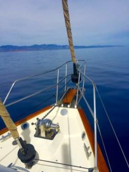 No wind, no sailing.