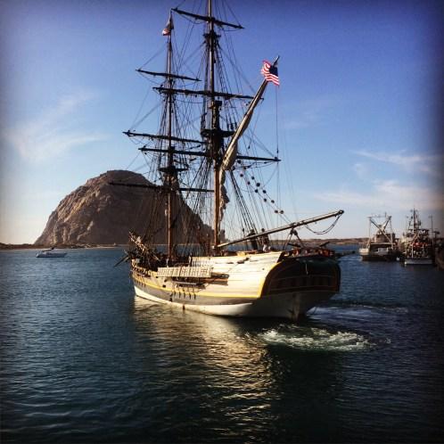 Lady Washington in Morro Bay