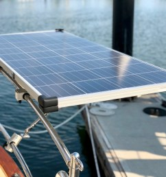 new solar panels sailing juniper solar panels as well marine engines boat wiring help in addition solar [ 4032 x 3024 Pixel ]