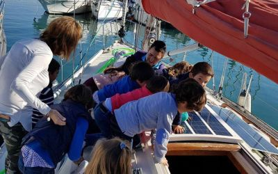 Más presencia en los medios del proyecto Sailing Living Lab