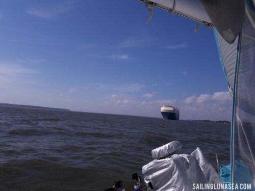 sailing luna sea cruising travel blog