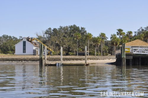 sailing luna sea cruising travel blog cumberland island