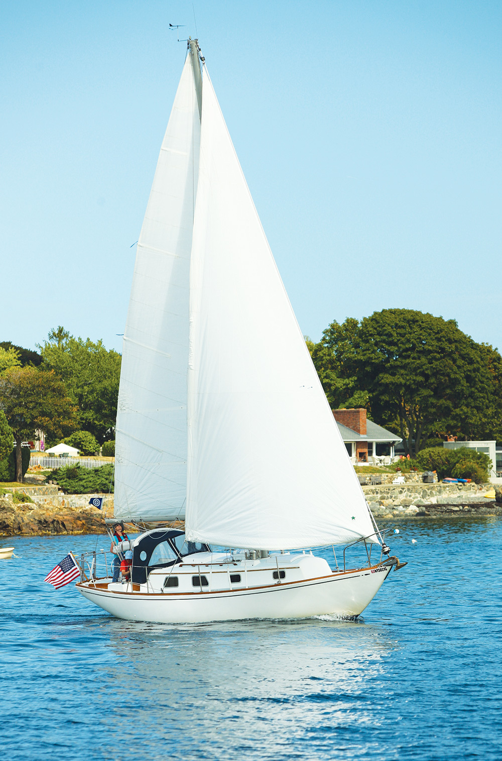 medium resolution of a classic tough boat becomes a pleasure to sail with cruise worth upgrades