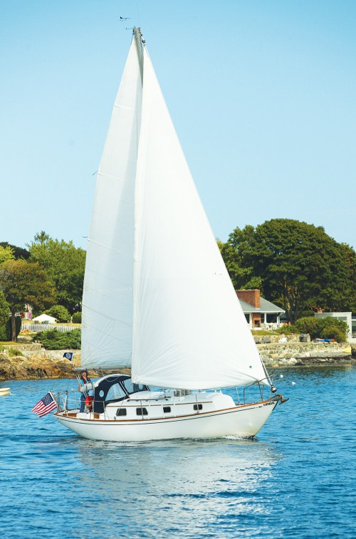 small resolution of a classic tough boat becomes a pleasure to sail with cruise worth upgrades