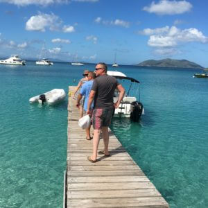 RYA Competent Crew in the BVIs