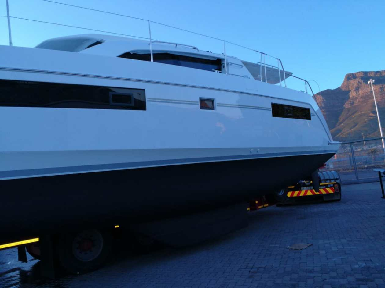 Launch of B1150 Leopard 40 at Royal Cape Yacht Club in Cape Town, South Africa