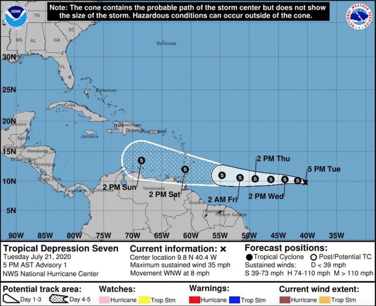 NOAA Named Storm
