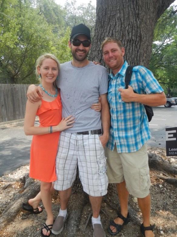 Deja, Jake, and Elan, in Austin, TX