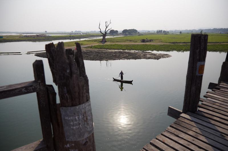 U Bein Bridge Boat Ride