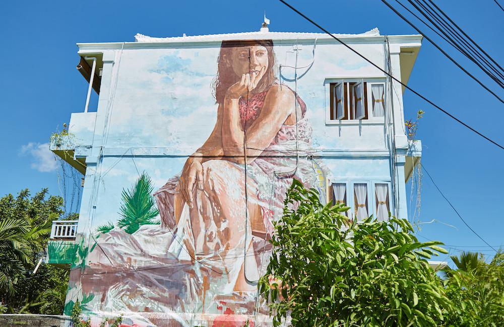 Canggu House Mural