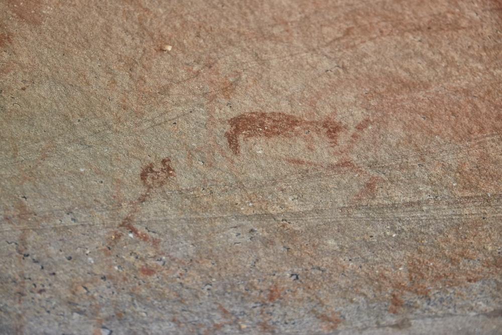 Phu Phra Bat Historical Park Cave Painting
