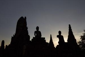 Wat Chai Wattanaram Sunset