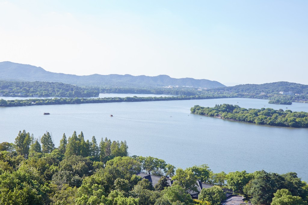 West Lake View from Leifing Pagoda
