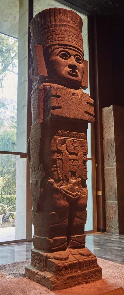 Atlantean Statue Anthropology Museum Mexico